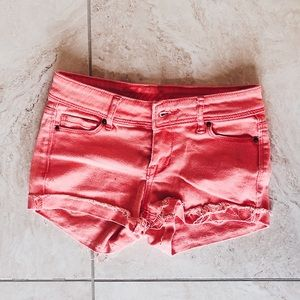 dELiA*s jean shorts — size 0